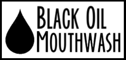 oil pulling with black oil mouthwash